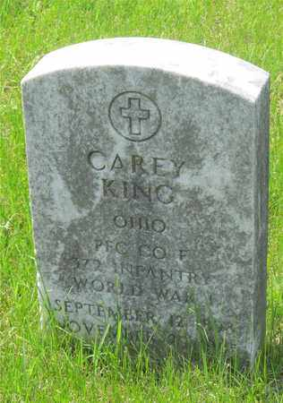 KING, CAREY - Franklin County, Ohio | CAREY KING - Ohio Gravestone Photos