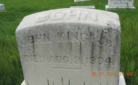 KING, JOHN - Franklin County, Ohio | JOHN KING - Ohio Gravestone Photos