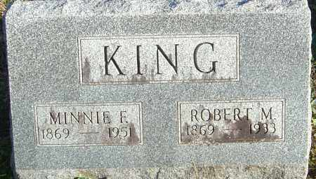 KING, MINNIE F - Franklin County, Ohio | MINNIE F KING - Ohio Gravestone Photos