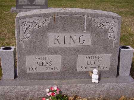 KING, PLEAS - Franklin County, Ohio | PLEAS KING - Ohio Gravestone Photos