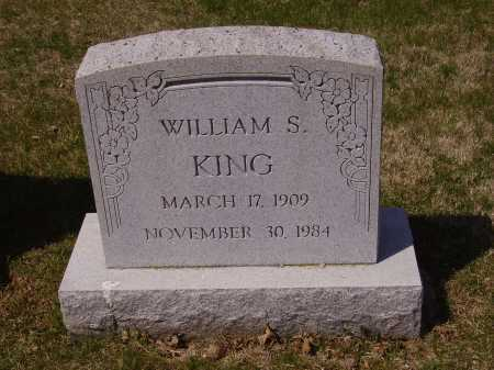 KING, WILLIAM S. - Franklin County, Ohio | WILLIAM S. KING - Ohio Gravestone Photos