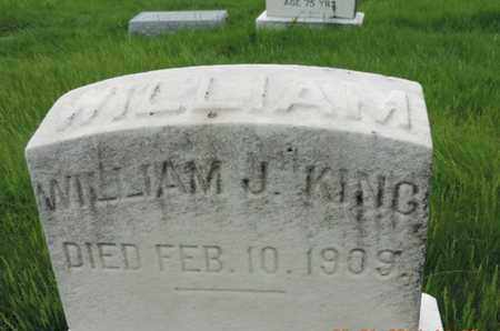 KING, WILLIAM J. - Franklin County, Ohio | WILLIAM J. KING - Ohio Gravestone Photos