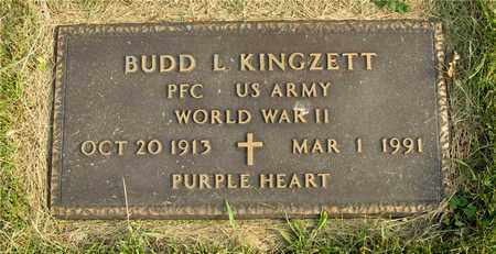 KINGZETT, BUDD L. - Franklin County, Ohio | BUDD L. KINGZETT - Ohio Gravestone Photos