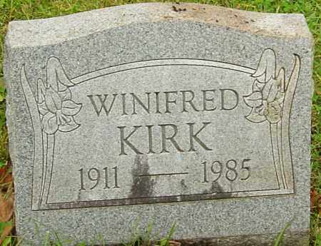 HOWARD KIRK, WINIFRED - Franklin County, Ohio | WINIFRED HOWARD KIRK - Ohio Gravestone Photos