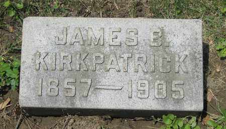 KIRKPATRICK, JAMES B. - Franklin County, Ohio | JAMES B. KIRKPATRICK - Ohio Gravestone Photos