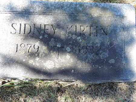 KIRTIN, SIDNEY - Franklin County, Ohio | SIDNEY KIRTIN - Ohio Gravestone Photos