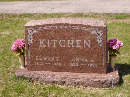 KITCHEN, EDWARD - Franklin County, Ohio | EDWARD KITCHEN - Ohio Gravestone Photos