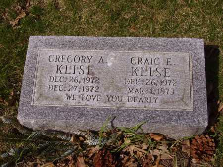 KLISE, CRAIG E. - Franklin County, Ohio | CRAIG E. KLISE - Ohio Gravestone Photos