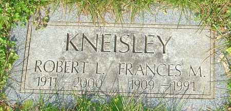 KNEISLEY, FRANCES - Franklin County, Ohio | FRANCES KNEISLEY - Ohio Gravestone Photos