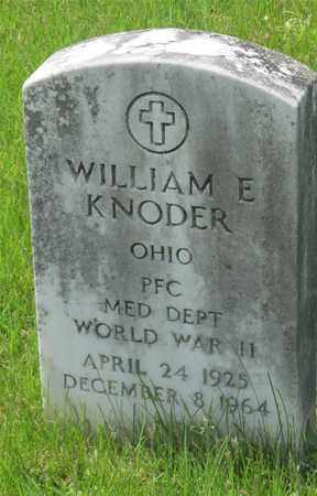 KNODER, WILLIAM E. - Franklin County, Ohio | WILLIAM E. KNODER - Ohio Gravestone Photos