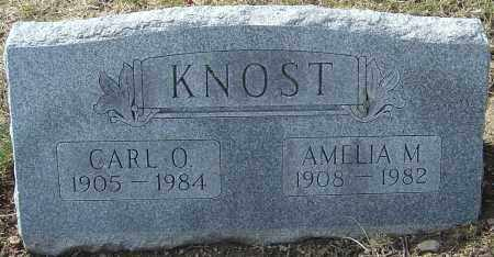 KNOST, CARL O - Franklin County, Ohio | CARL O KNOST - Ohio Gravestone Photos