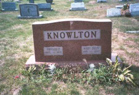 KNOWLTON, MARY - Franklin County, Ohio | MARY KNOWLTON - Ohio Gravestone Photos