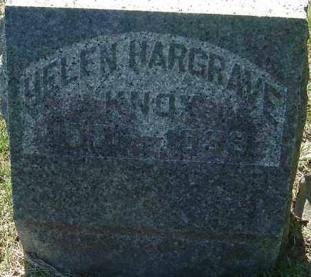 HARGRAVE KNOX, HELEN - Franklin County, Ohio | HELEN HARGRAVE KNOX - Ohio Gravestone Photos