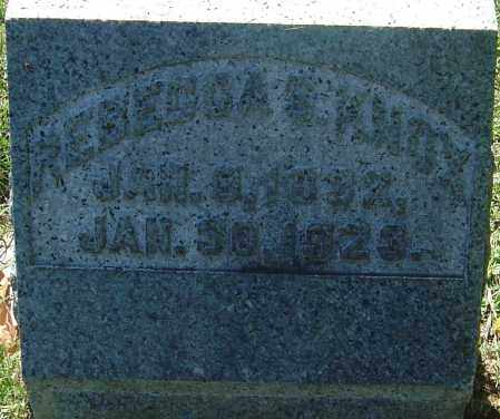 SHAUCK KNOX, REBECCA - Franklin County, Ohio | REBECCA SHAUCK KNOX - Ohio Gravestone Photos