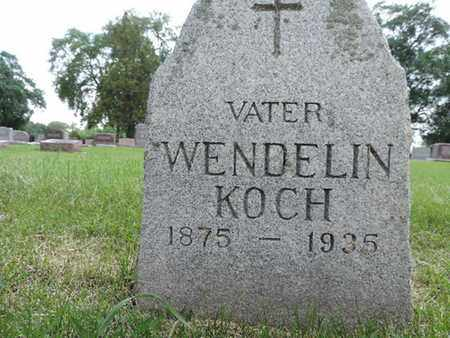 KOCH, WENDELIN - Franklin County, Ohio | WENDELIN KOCH - Ohio Gravestone Photos
