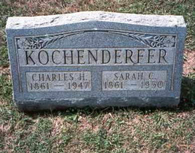 SPITZER KOCHENDERFER, SARAH C. - Franklin County, Ohio | SARAH C. SPITZER KOCHENDERFER - Ohio Gravestone Photos