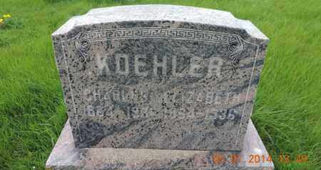 KOEHLER, CHARLES - Franklin County, Ohio | CHARLES KOEHLER - Ohio Gravestone Photos
