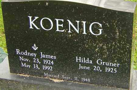 KOENIG, RODNEY - Franklin County, Ohio | RODNEY KOENIG - Ohio Gravestone Photos