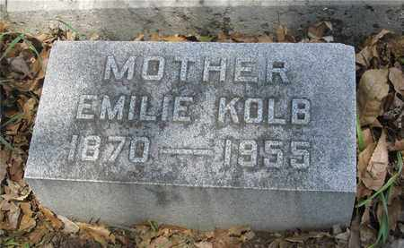 KOLB, EMILIE - Franklin County, Ohio | EMILIE KOLB - Ohio Gravestone Photos