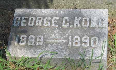 KOLB, GEORGE C. - Franklin County, Ohio | GEORGE C. KOLB - Ohio Gravestone Photos