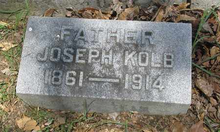 KOLB, JOSEPH - Franklin County, Ohio | JOSEPH KOLB - Ohio Gravestone Photos
