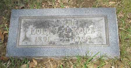 KOLB, LOUIS J. - Franklin County, Ohio | LOUIS J. KOLB - Ohio Gravestone Photos