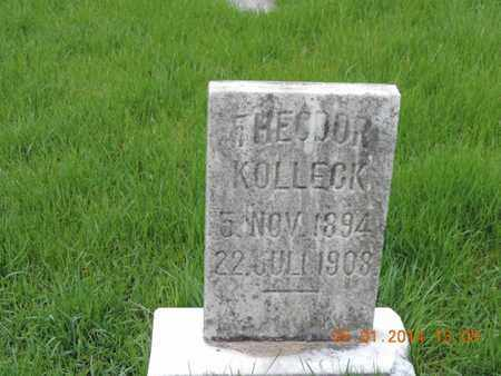 KOLLECK, THEODOR - Franklin County, Ohio | THEODOR KOLLECK - Ohio Gravestone Photos