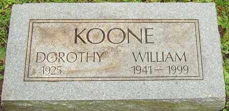 KOONE, WILLIAM - Franklin County, Ohio | WILLIAM KOONE - Ohio Gravestone Photos