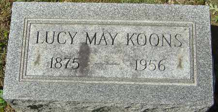 KOONS, LUCY MAY - Franklin County, Ohio | LUCY MAY KOONS - Ohio Gravestone Photos