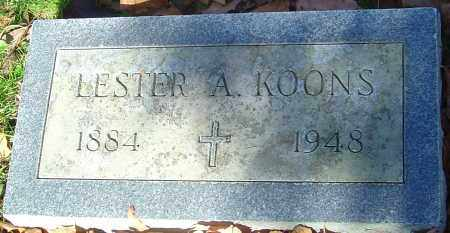 KOONS, LESTER ALETON - Franklin County, Ohio | LESTER ALETON KOONS - Ohio Gravestone Photos