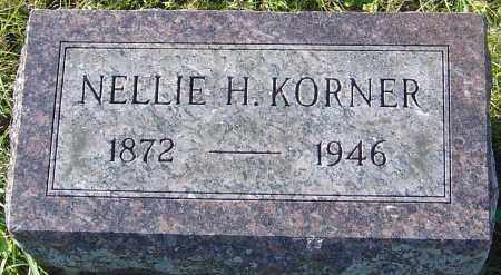 KORNER, NELLIE H - Franklin County, Ohio | NELLIE H KORNER - Ohio Gravestone Photos