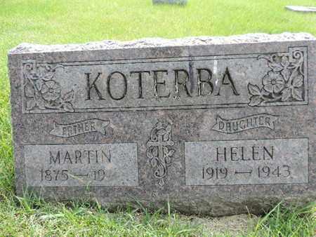 KOTERBA, MARTIN - Franklin County, Ohio | MARTIN KOTERBA - Ohio Gravestone Photos