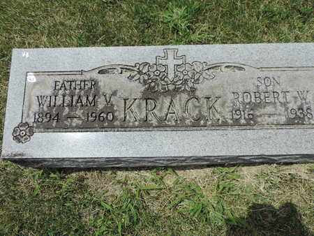 KRACK, ROBERT W. - Franklin County, Ohio | ROBERT W. KRACK - Ohio Gravestone Photos