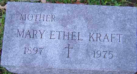 KRAFT, MARY ETHEL - Franklin County, Ohio | MARY ETHEL KRAFT - Ohio Gravestone Photos