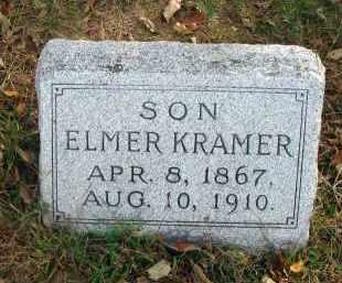 KRAMER, ELMER - Franklin County, Ohio | ELMER KRAMER - Ohio Gravestone Photos