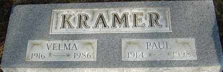 KRAMER, PAUL - Franklin County, Ohio | PAUL KRAMER - Ohio Gravestone Photos