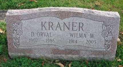 KRANER, D. ORVAL - Franklin County, Ohio | D. ORVAL KRANER - Ohio Gravestone Photos