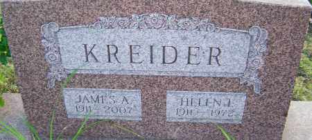 KREIDER, JAMES - Franklin County, Ohio | JAMES KREIDER - Ohio Gravestone Photos