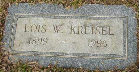 KREISEL, LOIS W - Franklin County, Ohio | LOIS W KREISEL - Ohio Gravestone Photos