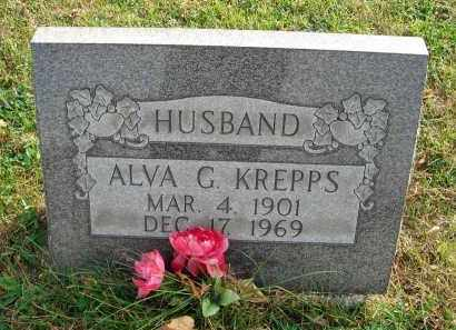 KREPPS, ALVA G. - Franklin County, Ohio | ALVA G. KREPPS - Ohio Gravestone Photos