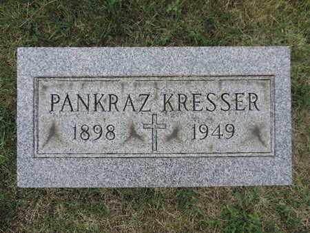 KRESSER, PANKRAZ - Franklin County, Ohio | PANKRAZ KRESSER - Ohio Gravestone Photos
