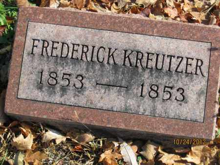 KREUTZER, FREDERICK - Franklin County, Ohio | FREDERICK KREUTZER - Ohio Gravestone Photos