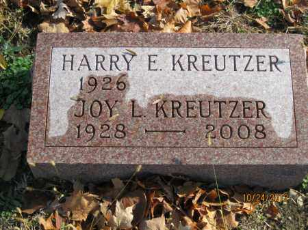 LEFFLER KREUTZER, JOY LOUISE - Franklin County, Ohio | JOY LOUISE LEFFLER KREUTZER - Ohio Gravestone Photos