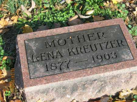 ALLBRIGHT KREUTZER, LENA - Franklin County, Ohio | LENA ALLBRIGHT KREUTZER - Ohio Gravestone Photos