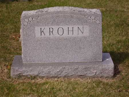 KROHN, FAMILY MONUMENT - Franklin County, Ohio | FAMILY MONUMENT KROHN - Ohio Gravestone Photos