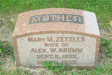 KRUMM, MARY M. - Franklin County, Ohio | MARY M. KRUMM - Ohio Gravestone Photos