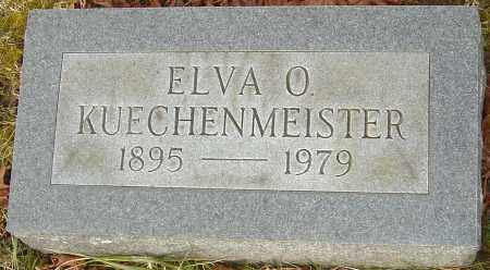 KUECHENMEISTER, ELVA O - Franklin County, Ohio | ELVA O KUECHENMEISTER - Ohio Gravestone Photos