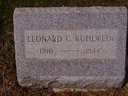 KUHLWEIN, LEONARD - Franklin County, Ohio | LEONARD KUHLWEIN - Ohio Gravestone Photos