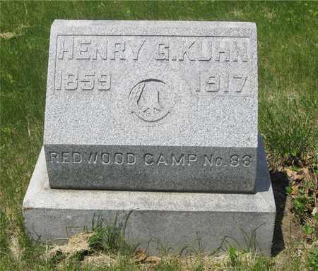 KUHN, HENRY G. - Franklin County, Ohio | HENRY G. KUHN - Ohio Gravestone Photos