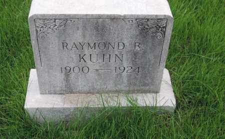 KUHN, RAYMOND B - Franklin County, Ohio | RAYMOND B KUHN - Ohio Gravestone Photos